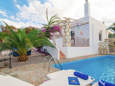 Photo for Newly built 2014, luxurious villa, 5 persons, Agia Triada, NWcoast, private pool
