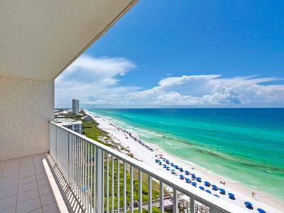 Photo for Gulf Front Condo ~ Spectacular 11th Floor View ~ Near Famous Seaside ~ FREE Seasonal Beach Chairs