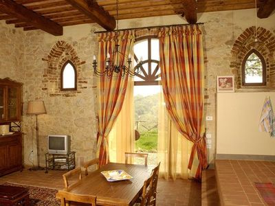 Photo for Camporbiano Apartment, Sleeps 4 with Pool