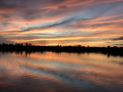 Photo for Waterfront Retreat with Amazing Sunsets, Perfect for Nature Lovers