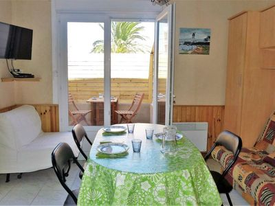 Photo for Apartment Les Roses  in Narbonne - Plage, Hérault - Aude - 2 persons, 1 bedroom