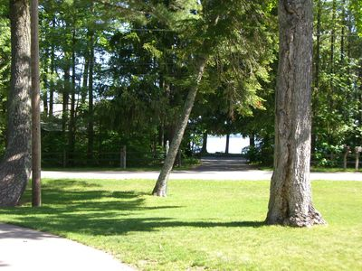 Photo for Suttons Bay-Private Sugar Sand Beach-Pet Friendly-Walk to Brewery, town, shops