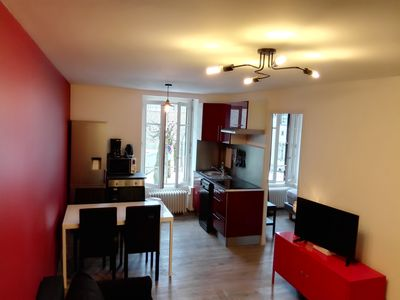 Photo for NEW T3 apartment with 2 thermal baths LE MONT DORE