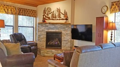 Photo for Beautiful Home near Woodlands Golf Course & SHARC w/ WiFi, Hot Tub & BBQ