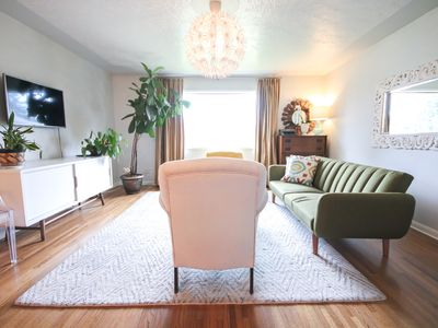 Photo for Peaceful Mod style Bungalow close to downtown Calgary