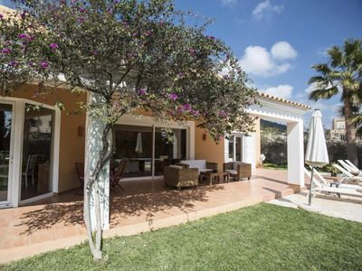 Photo for Catalunya Casas: Luxury Villa Begonia in Ibiza with mountain & distant sea views!