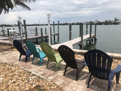 Photo for WATERFRONT 2BR/2BA in Key Colony Beach! 30ft of DOCK & Cabana Beach Club & Pool