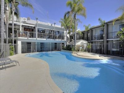 Photo for ❤ RESORT GETAWAY WITH POOL - WALK TO BEACH, BARS, CAFES, PUBS, RESTAURANTS  ❤