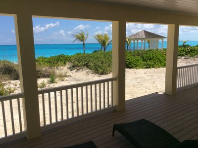 Photo for LUXURY BEACHFRONT VILLA ON WHITE SANDY BEACH WITH OVER 70, 5 STAR REVIEWS