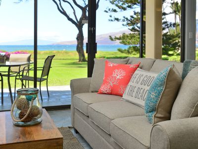 Photo for Rarely Available! Classy Kihei Condo with Panoramic Ocean Views! Book Today!