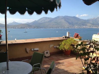 Photo for Lovely sea view in the old town of Gaeta