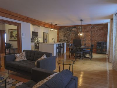 Photo for Historical 3 Bedroom Condo In the Heart of Old Quebec