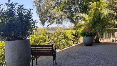 Photo for Riverside by Swan Maylands- a relaxing place to be