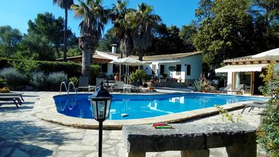 Photo for Villa with 4 bedrooms and large private pool, Air Conditioning & Free wifi