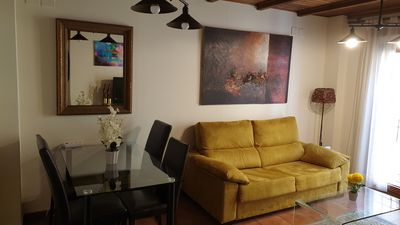 Photo for In The Realejo. Genuine apartment in 1910 restored courtyard house. Parking opc
