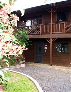 Front View of the Wailua Hideaway Private Apartment