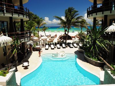 Oceanfront Infinity Pool...One of TWO pools you can use.