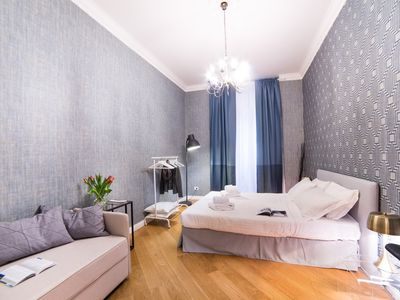 Photo for Large four bedrooms apartment at the Spanish Steps