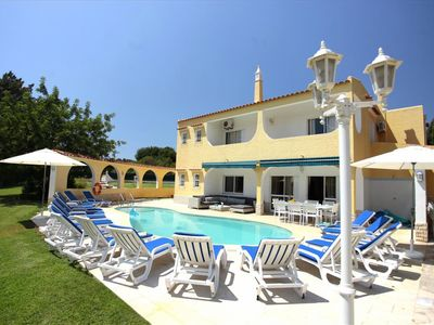 Photo for Outstanding Villa With Heated Pool, By The Beach on A Fabulous Spacious Plot