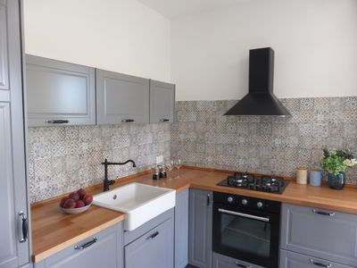 Photo for Quiet location, a few minutes drive from the sea, WiFi, parking