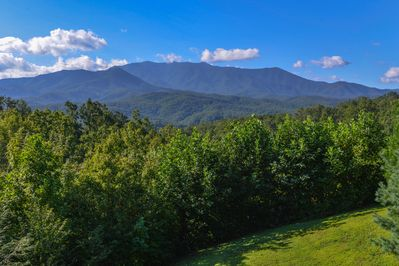 The Smoky Mountain Range is your Backyard! What a  privileged view!