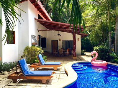 Photo for Private and secluded in a dead end road, with a pool, a/c, this house is a jewel