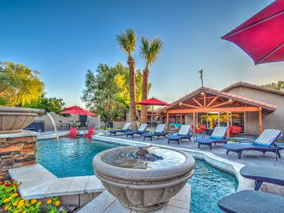 Photo for HUGE HIGH-END HOME, GREAT RATES, RESORT-STYLE POOL+SPA, CLOSE TO EVERYTHING.