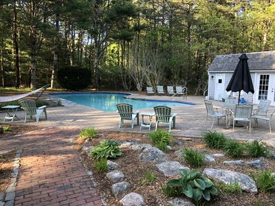 Photo for New Seabury Family Vacation Retreat with Pool