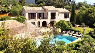 Photo for Charming property in pramousquier 300 m from the beach