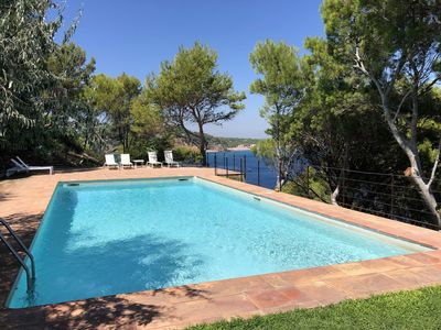 Photo for Holiday rental villa with swimming pool in Begur, Aiguafreda