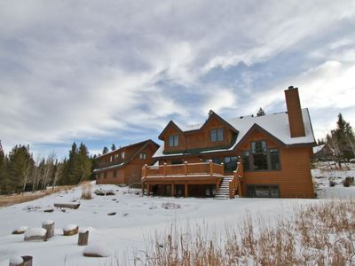 Photo for NEW LISTING! Spacious home w/ a private hot tub, pool table, & peaceful location