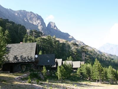 Photo for Chalet Upper Corsica Asco 6 people