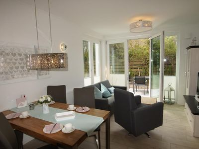 Photo for Strandperle - Idyllic location with terrace and garden