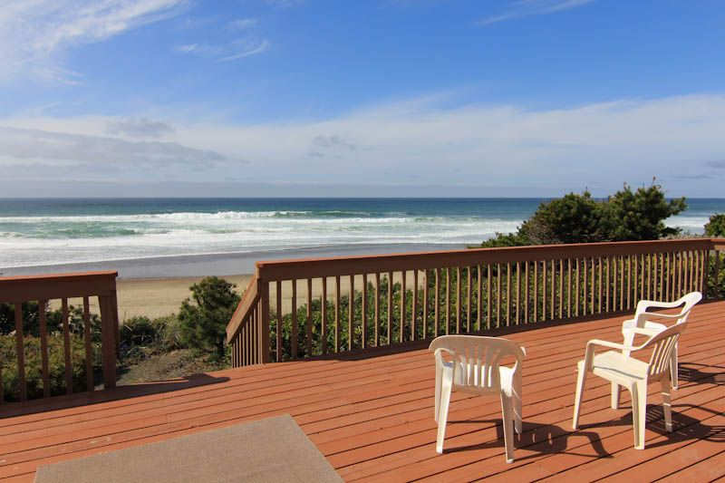 Wonderful Ocean Front Home Perfect For A Family Retreat Share Gleneden Beach