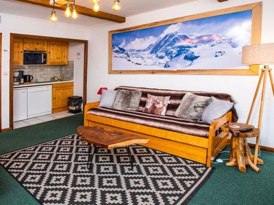 Photo for Apartment at the foot of the slopes, les 2 Alpes