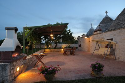 Our Trulli at dusk