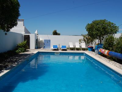 Photo for Charming renovated old house, with large pool, pergola and walled gardens.