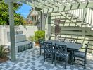 Private Courtyard - Furnished with Patio Dining for Six