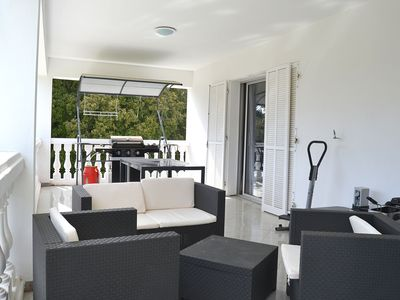 Photo for peaceful villa any comfort covered terrace 3 bedrooms and 2 bathrooms