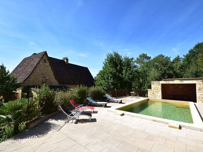 Photo for Beautiful house with private swimming pool and garden with fruit trees near Domme (5km)