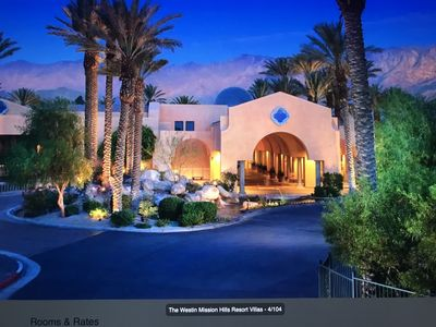 Photo for The Westin Mission Hills Villas - 2 BR Lock-off Full Resort Access