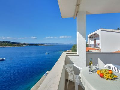 Photo for Apartment 7922  A(6+2)  - Cove Pokrivenik, Island Hvar, Croatia