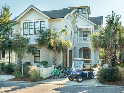 Photo for ☼The Nautilus☼Luxury 5BR in WaterSound-OPEN July 6 to 13! Golf Cart- 4 Bikes