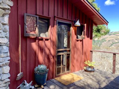 Photo for Forest Cabin nestled in oak sanctuary between Valley Village and Carmel Beach
