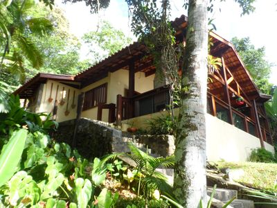 Photo for Village Picinguaba. Beautiful and comfortable house in the woods and near the beach