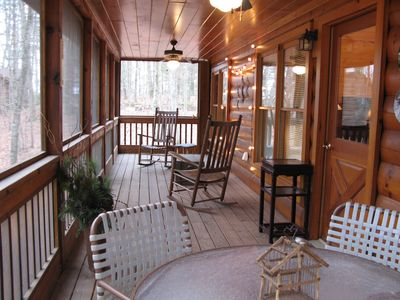 Photo for Unplug & Unwind at this Cozy & Clean Cabin in the Woods - Sleeps 6