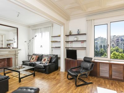 Photo for 5* Luxury flat Passeig de Gràcia