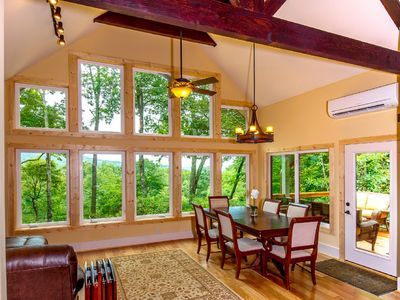 Photo for Pisgah Forest Pet Friendly Home with view