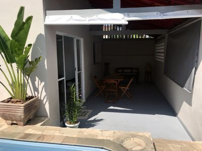 Photo for Cottage in Itaguá, with pool and air conditioning, sleeps up to 7 people