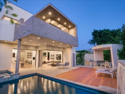 Photo for Splendid West Hollywood modern luxury villa with pool and hot tub!